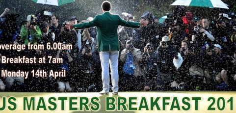US Masters Breakfast 2014
