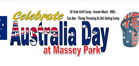 Australia Day – Monday 26th January
