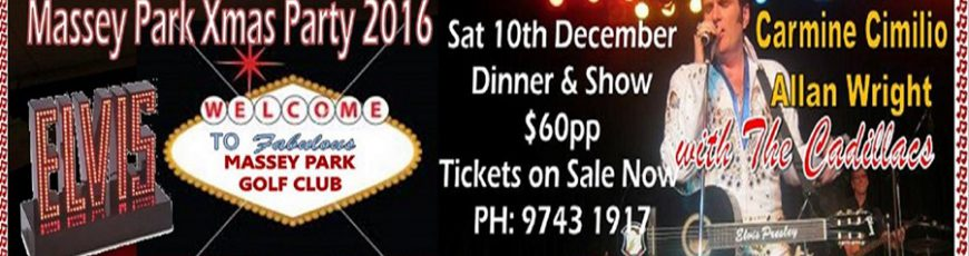 A Massey Park Xmas with Elvis - Click on the Banner for details.